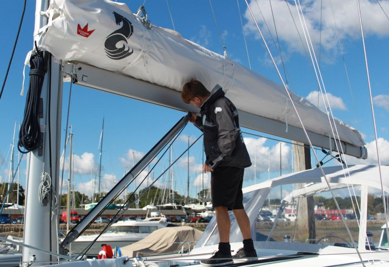 Yacht Rigging Check - Boom Vang - Advanced Rigging & Hydraulics