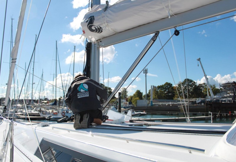 Yacht Rigging Check - Vang - Advanced Rigging & Hydraulics