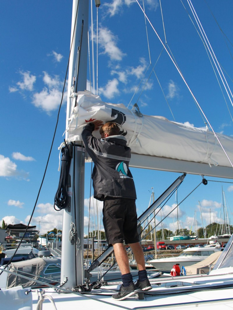 Yacht Rigging Check - Boom - Advanced Rigging & Hydraulics