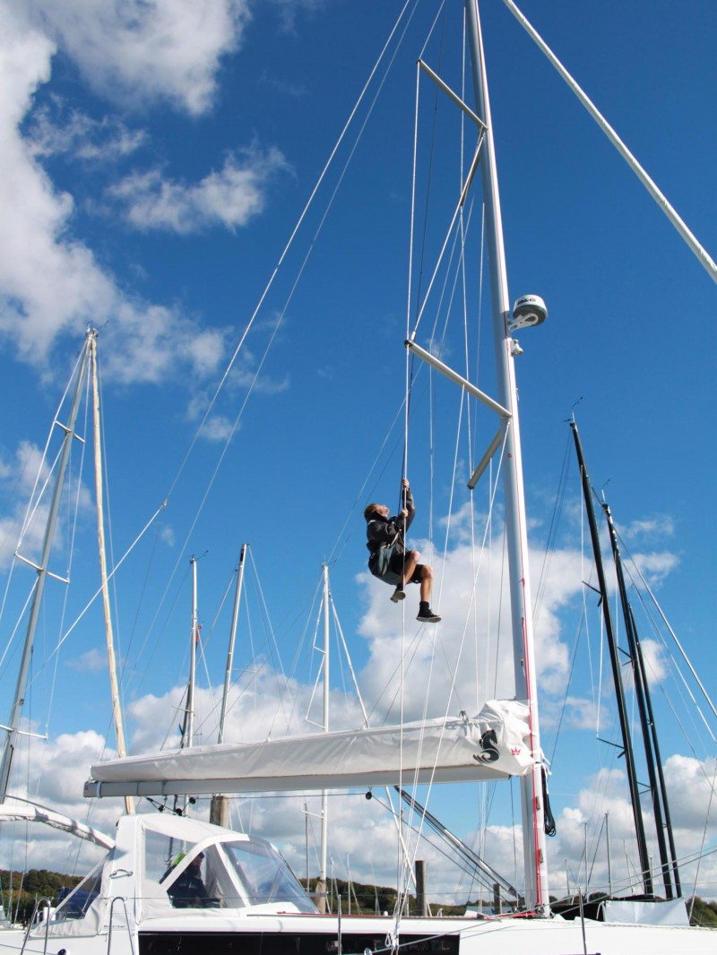 Yacht Rigging Check - Advanced Rigging & Hydraulics